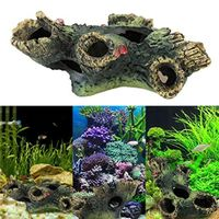 Clothful 💓 New Arrival Trunk Decoration Resin Bole for Aquarium Fish Tank Free Shipping
