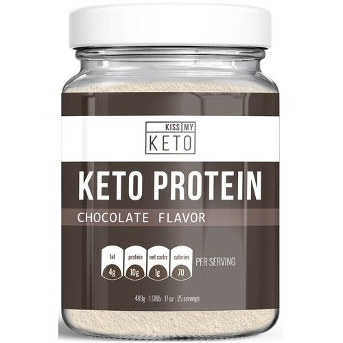 Kiss My Keto Protein Powder - Keto Collagen Supplement, Grassfed Collagen Peptides & MCT Oil Powder, Low Carb Keto Shake or Keto Coffee Creamer for Ketogenic Diets, 25 Servings Reviews 2021
