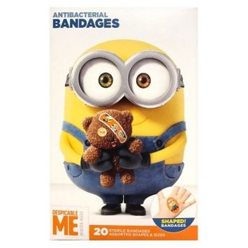 Adhesive Bandages - Despicable Me Minions - 20ct