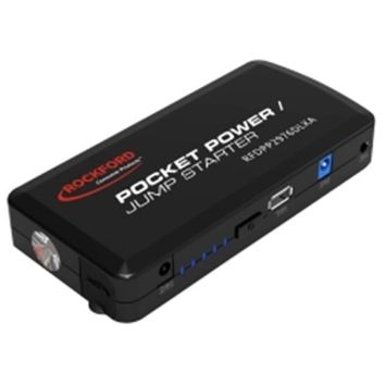 Rockford Consumer Products CED2976-2R Pocket Power/jump Starter, 12000mah, black Color