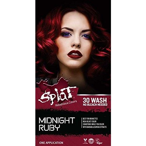 Splat 30 Wash No Bleach Formula