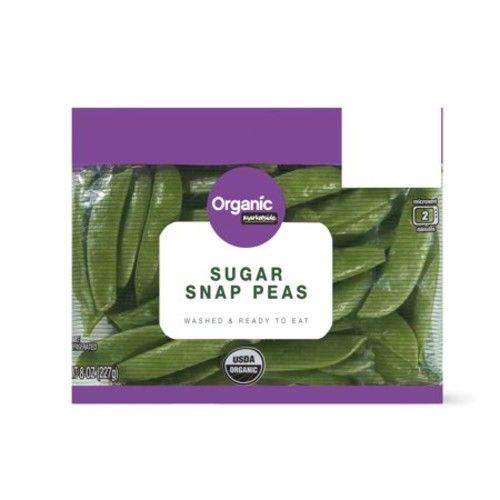 Marketside Organic Sugar Snap Peas, 8 oz