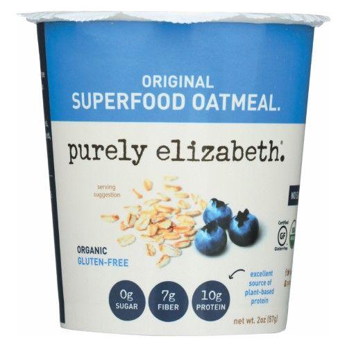Purely Elizabeth Ancient Grain Oatmeal Original 2 oz - Vegan