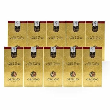 Organo Gold Cafe Latte 10 boxes Gourmet Coffee Enriched with Ganoderma Mushroom