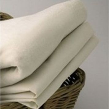 Organic Cradle Sheets - Set of 6 - Color: White Size: 18 x 36