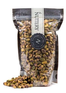 The Nuttery Ny The Nuttery Roasted and Lightly Salted Antep Turkish Pistachios - 16 ounce pouch bag (1lb)