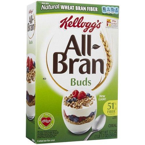 Kellogg's All-Bran Bran Buds Cereal - 17.7 oz