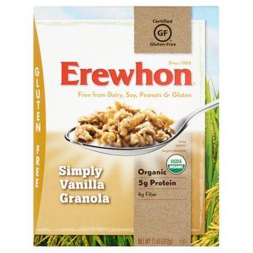 Attune Foods, Llc Erewhon, Granola Simply Vanilla, 11 Oz (Pack Of 6)