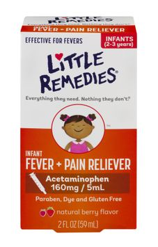 Little Remedies Infant Fever/Pain Reliever Berry Flavor (2oz)