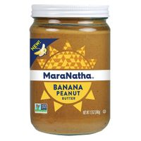 Maranatha Banana Peanut Butter 12 oz Glass Jar - Single Pack