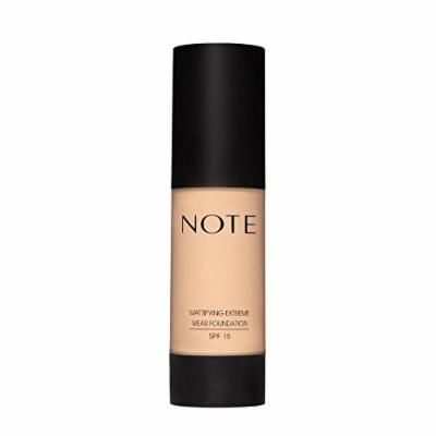 Note Cosmetics Mattifying Extreme Wear Foundation (02 Natural Beige)