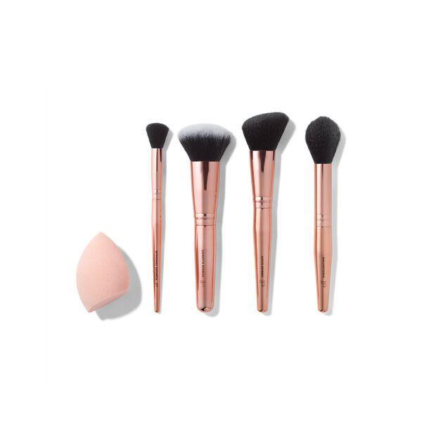 Elf Cosmetics Complexion Essentials Brush & Sponge Set