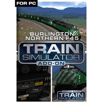 Dovetail Games Train Simulator Add-On - Burlington Northern F45 (PC)(Digital Download)