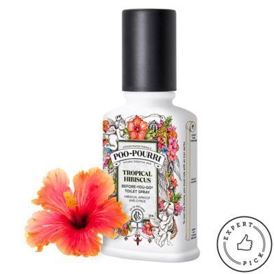 PooPourri Before-You-Go Toilet Spray, Tropical Hibiscus Scent