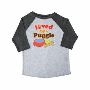 Puggle Dog Lover Toddler T-Shirt