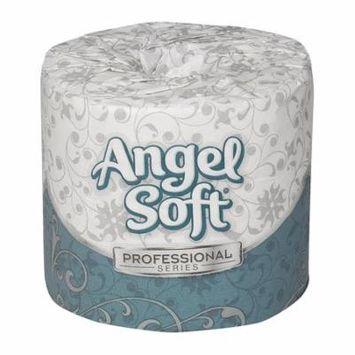 Georgia-Pacific Angel Soft Professional Series 16840 White 2-Ply Premium Embossed Bathroom Tissue, (WxL) 4.000
