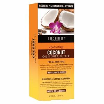 Marc Anthony True Professional Hydrating Coconut Oil & Shea Butter Oil Treatment 1.69 fl oz(pack of 12)
