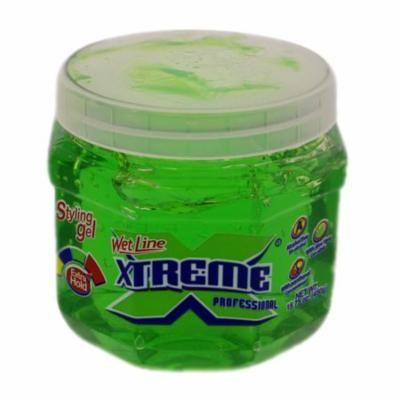 Xtreme Green Styling Gel 450g - Verde Gel de Peinado (Pack of 6)