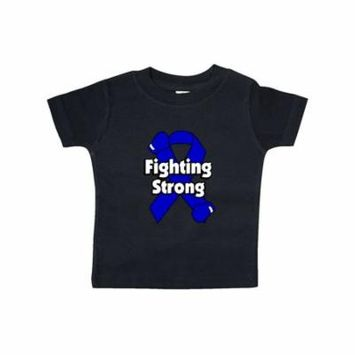 Colon Cancer Fighting Strong Baby T-Shirt