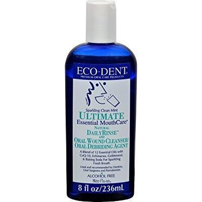 eco dent mouth rinse mint