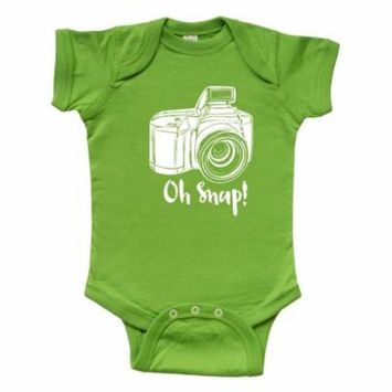 Camera Oh Snap Infant Creeper