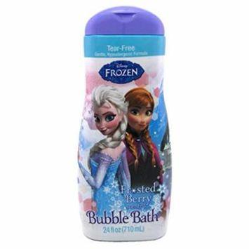 Disney Frozen Bubble Bath Frosted Berry Scent 24 Oz