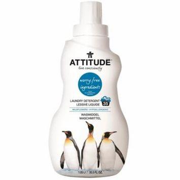 ATTITUDE, Laundry Detergent, Wildflowers, 35.5 fl oz (pack of 3)