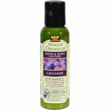 Avalon Hand And Body Lotion Trial Size - Lavender - Pack of 24 - 2 Oz