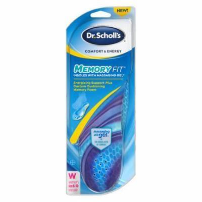 Dr. Scholl's Comfort & Energy Memory Fit Insoles Women 1.0 pr(pack of 3)