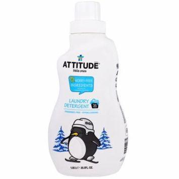 ATTITUDE, Little Ones, Laundry Detergent, Fragrance-Free, 35.5 fl oz(pack of 3)