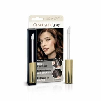 Cover Your Gray Root Touch-Up Black (3-Pack) with Free Nail File