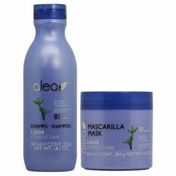 Alea Straight Hair with Bamboo Extract & Keratin Shampoo + Mask
