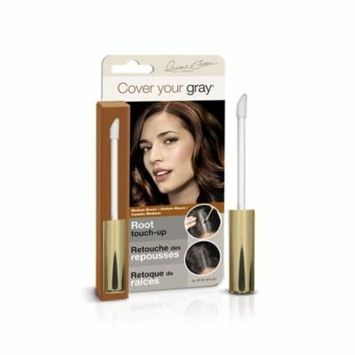 Cover Your Gray Root Touch-Up Medium Brown (3-Pack) with Free Nail File