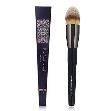 MAANGE 1Pcs Synthetic Pointed Foundation Brush Large Tapered Contour Powder Kabuki Brush