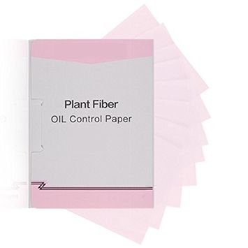 Pevor Natural Plant Fiber Oil Absorbing Paper, Facial Oil Blotting Sheet,Oil Control Film Blotting Paper, Clear &Clear Oil-Absorbing Sheets, 100 Sheets In A Box, Easy To Carry In Pocket
