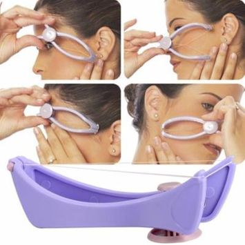 Cleanerlove Womens Beauty Tool Manually Threading Face Facial Spa Hair Remover Epilator Hait Tools Set CEAER