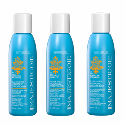 ZOTOS Luxe Majestic Moroccan Argan Hydrating Conditioner 3oz HP-50161 (3 Pack)