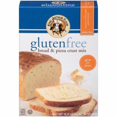 King Arthur Flour Gluten Free Bread & Pizza Crust Mix 18.25 Oz (Pack of 6)