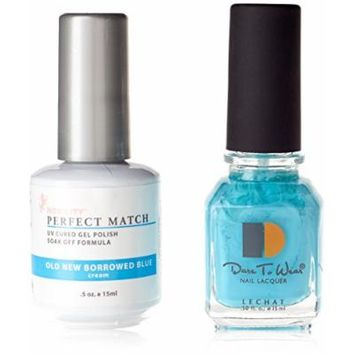 LeChat Duo Nail Polish, Old New Borrowed Blue by LE CHAT