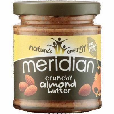 (3 PACK) - Meridian - 100% Crunchy Almond Butter | 170g | 3 PACK BUNDLE