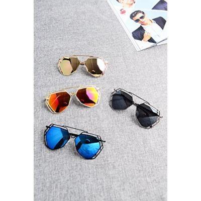 Generic Temperament_colorful_irregular_exposed_ sunglasses