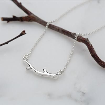 Generic Korean _version_of_the_British_branch_ 925 silver necklaces _know_almost_recommendation_lover_ girl friends_ gift s