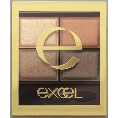 Japan Excel Skinny Rich Shadow SR02 Real Brown Makeup Eyeshadow