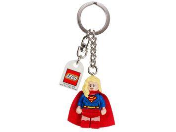 LEGO® DCComics™ SuperHeroes nøglering med Supergirl