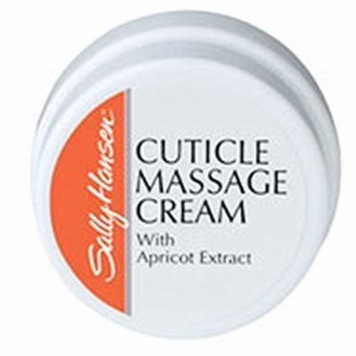 Sally Hansen Cuticle Massage Cream With Apricot Oil 0.4oz/11.3g by Sally Hansen