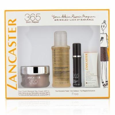 Lancaster 365 Skin Repair Set Youth Renewal Day Cream 50ml Serum Youth Renewal 10ml Eye Serum 3ml Express Cleanser 100ml 4pcs Reviews 2021