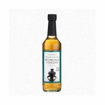(10 PACK) - Clearspring Organic Brown Rice Vinegar  500 ml  10 PACK - SUPER SAVER - SAVE MONEY