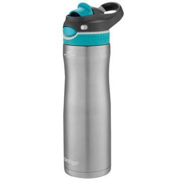 Contigo 20 oz. Ashland Autospout Chug Chill Stainless Steel Water Bottle - Scuba