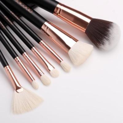 Docolor 15 Pcs Professional Foundation Blending Blush Face Powder Makeup Brush w/ Case