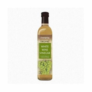 (12 PACK) - Clearspring White Wine Vinegar - Organic  500 ml  12 PACK - SUPER SAVER - SAVE MONEY